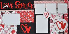 Love Struck - 12x12 Scrapbook Page Kit