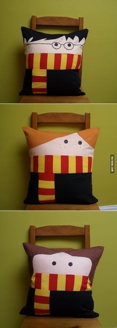 9GAG - Cute Harry Potter Pillows