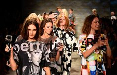 New York Fashion Week Diary: High heels kicked up for fun finale at Libertine