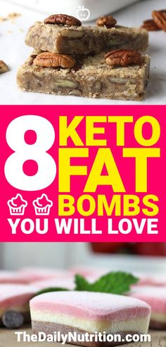 8 Keto Fat Bombs You Need to Make Right Now for Ketosis
