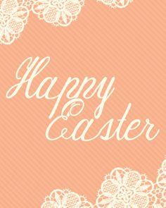 Easter Printable Art - Happy Easter