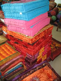 Many styles and colours. Floor Cushions, Ottomans, Colours, Flooring, Style, Wood Flooring, Floor Pillows, Floor, Rug Pads