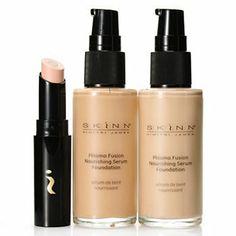Skinn Cosmetics Plasma Fusion Nourishing Serum Foundations & Corrector Trio