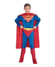 Deluxe Superman Muskel Dress-Up Set - Kleinkind