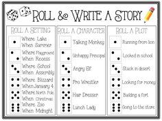 creative writing lesson plans for 2nd grade