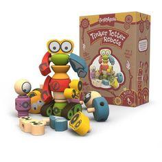 BeginAgain Tinker Totter Robots Build Your Own Robot Kit & Robot Building Game : Target