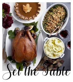 """set the table"" by mildredsunrise on Polyvore featuring interior, interiors, interior design, home, home decor, interior decorating and Williams-Sonoma"