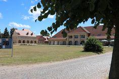 Blick auf die Remise in Stolpe auf Usedom