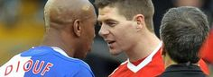 Diouf: Gerrard hates black people and Liverpool hate black non-English players
