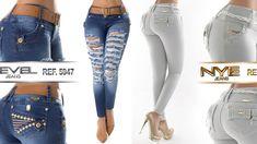 Nueva coección de Pantalones Jeans colombiano levanta cola