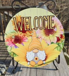 Christmas Signs, A Christmas Story, Easter Wreaths, Mesh Wreaths, Stone Painting, Diy Painting, Gnome Paint, Birdhouse Designs, Cool Art Projects