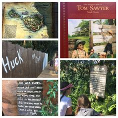 Storytime: The Adventures of Tom Sawyer; while we have been reading this we took a trip to Magic Kingdom and realized that the playground island there is based off the Mark Twain books: The Adventures of Tom Sawyer and The Adventures of Huckleberry Finn. Who knew Disney could be educational?!