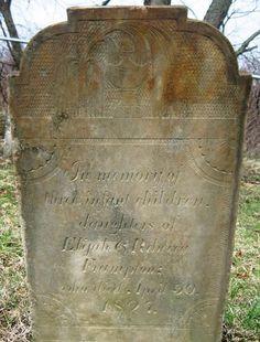 Michigan Family Trails - TOMBSTONE TUESDAY–Triplet daughters of Elijah & Rebecca Frampton #genealogy