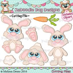 Cutie KaToodles - Bunnies