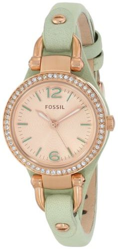 "Fossil Women's ES3471 ""Georgia"" Stainless Steel Watch with Leather Strap Fossil http://www.amazon.com/dp/B00HVBJ9HQ/ref=cm_sw_r_pi_dp_L3oOtb16M1TETCK2"