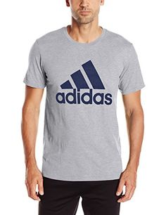 25af47a588800 adidas Men s Badge of Sport Graphic Tee Choose your size and color 60%  Polyester