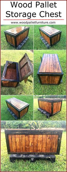 You must have seen a lot of people share images of turning wooden pallet into something amazing that you were highly intrigued to copy. It might seem impossible but hard work and devotion can turn anything possible when you make the right efforts. A stora Wooden Pallet Crafts, Wooden Pallets, Diy Wood Projects, Wood Crafts, Woodworking Projects, 1001 Pallets, Recycled Pallets, Pallet Furniture, Furniture Projects