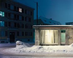 """Colder, Thomas Flechtner –––––– Thomas Flechtner Colder Year : Location : La Chaux-de-Fonds, Switzerland – """"Colder which are 39 x co. Winterthur, Beautiful Houses Interior, Beautiful Homes, Halle, Expositions, Contemporary Photography, Outdoor Settings, Street Photo, Brutalist"""
