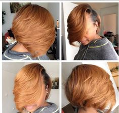 New Hair Do, Love Your Hair, Great Hairstyles, Straight Hairstyles, Black Hairstyles, Short Hair Cuts, Short Hair Styles, Bob Styles, Black Hair Care