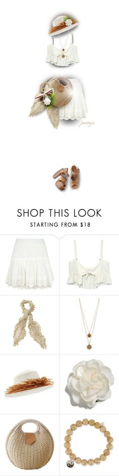 """""""Easy and Breezy"""" by rockreborn ❤ liked on Polyvore featuring Misa, Stone_Cold_Fox, Bee Charming, Gigi Burris Millinery, Cara, Sydney Evan, Miu Miu and Michael Kors"""