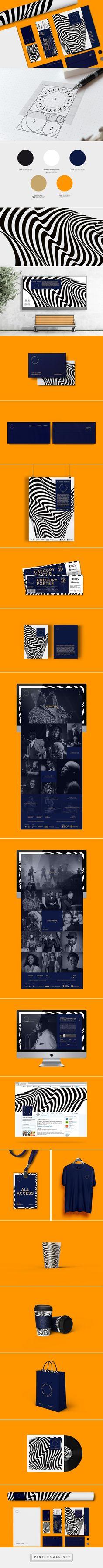Cully Jazz Festival | Branding on Behance - created via http://pinthemall.net