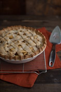 Apple Pie (without refined sugar)--sub VEGAN butter.