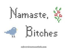 #crossstitch #juliejackson: Julie and I are kindred spirits;) had to repun this;)