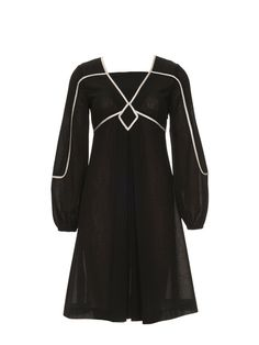 This could be particularly fabulous in different colors  Burda Style Piping Dress 12/2012 #130