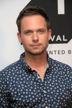 The actor has since apologised for sharing an unflattering photo of a woman after she criticised his 'chunky' appearance at the Royal Wedding. Sexy Guys, Sexy Men, Hot Guys, Mike Suits, Patrick J Adams, Gabriel Macht, Perfect Man, Hot Men, Pretty Boys