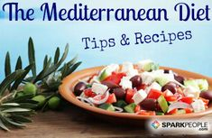 The big news this week is that eating a Mediterranean \'diet\' can help reduce your risk of heart attacks, strokes, and death from heart disease by 30%! Get recipes and easy tips. via @SparkPeople
