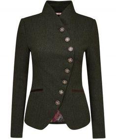 Heritage Herringbone Jacket by Joe Browns Work Fashion, Fashion Outfits, Fashion Design, Herringbone Jacket, Herringbone Pattern, Coats For Women, Clothes For Women, Mode Inspiration, Jacket Style