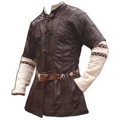 Medieval Tunic ❤ liked on Polyvore featuring medieval, men, costumes, fantasy and tops
