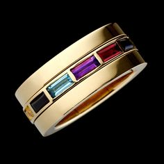 Hattie Rickards. Rubix II ring in 18ct Fairtrade Fairmined Ecological Gold with…