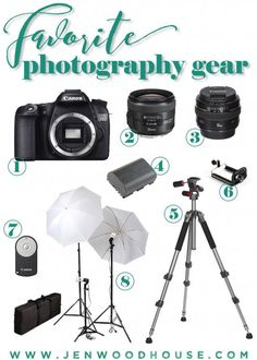 Favorite Photography Gear