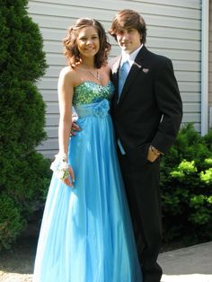 Faith Steigerwald and Zachary Williams Boyertown High School 2012 Prom