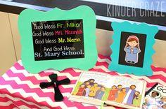 "FREE ""God Bless Our School"" print for Catholic Schools Week or Lutheran Schools Week"