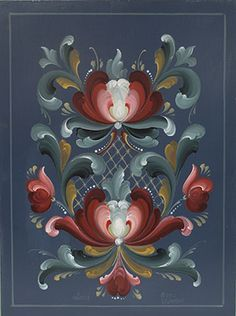 romsdal rosemaling - Google Search
