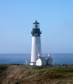 Yaquina Head Lighthouse by Newport, OR