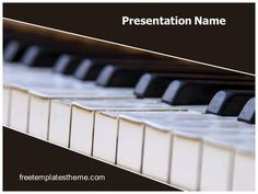 Download #free #Piano #PowerPoint #Template for your #powerpoint #presentation. This #free #Piano #ppt #template is used by many professionals.
