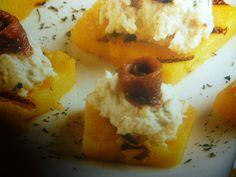 baccalà mantecato - su crostini di polenta