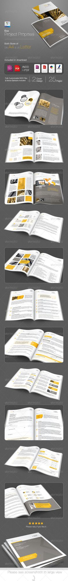 Proposal V3 Proposals, Proposal templates and Brochures - download business proposal template
