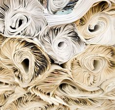 Cool texture reminds me of quilling technique, I'll do w newspapers - Edward Fields | History