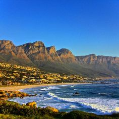 Perfect day in Camps Bay in #CapeTown. Photo courtesy of monoubani on Instagram.