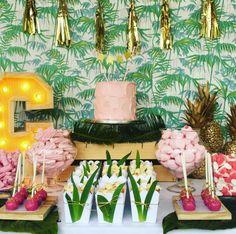 Tropical candy bar