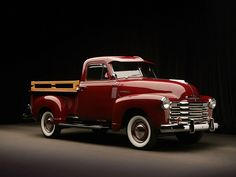 Chevrolet 3100 Pickup, 1951.