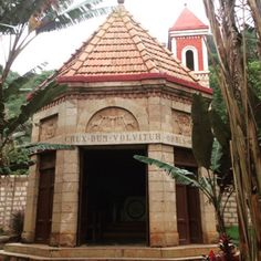 """The Little Church on the Slopes"" was built by Italian Prisoners of War in 1942. It's perched along Mai-Mahiu - Narok Rd. overlooking the Great Rift Valley."