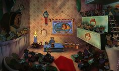 C'est une révélations des dessinateurs de chez Disney: voici où est caché mickey dans des scènes d'autres dessins animés.