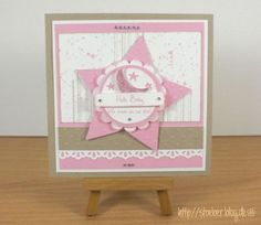 stampin up, cards baby