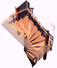 Spiral stair plans. Spiral stairs crafted in wood How To Make A Wooden Spiral Staircase