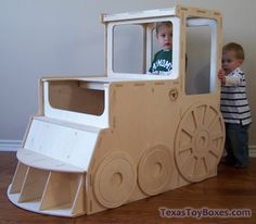 wooden toy boxes | Texas Toy Boxes - All Wood: Train Toy Box - SOLD OUT